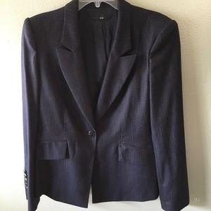 boss hugo boss pinstripe blazer jacket